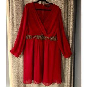 Little Mistress - ASOS CURVE - embellished Dress